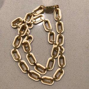 Tory Burch oversized link necklace